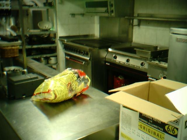 кухня горячего цеха.